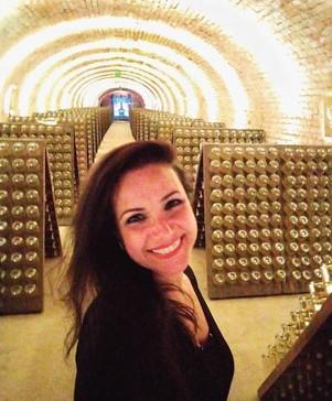Conhecendo a linda cave da Schlumberger em Viena