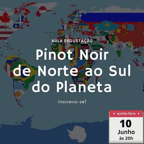 Pinot Noir do Norte ao Sul do Planeta