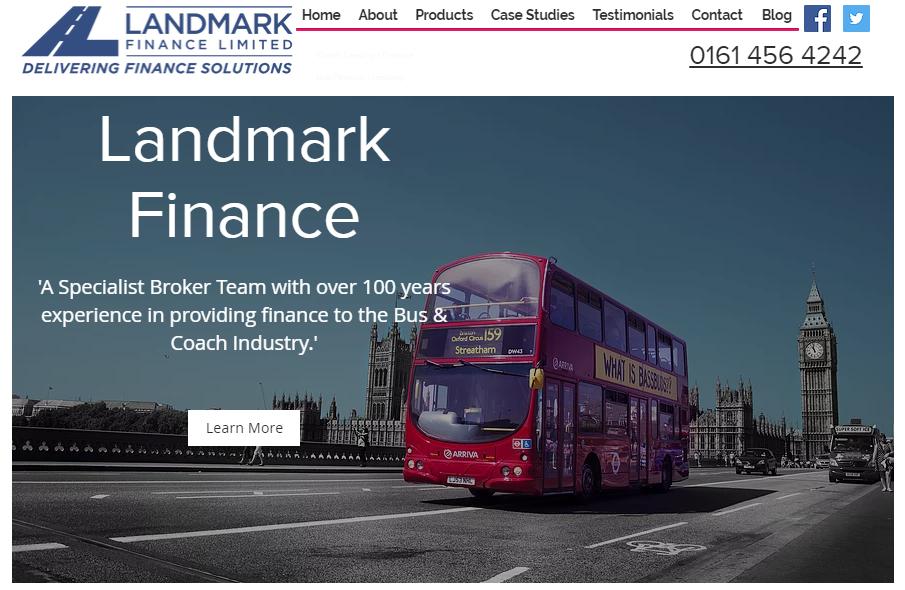 New Landmark Finance Website