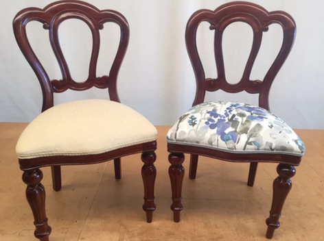 Antique Chair Reupholstery
