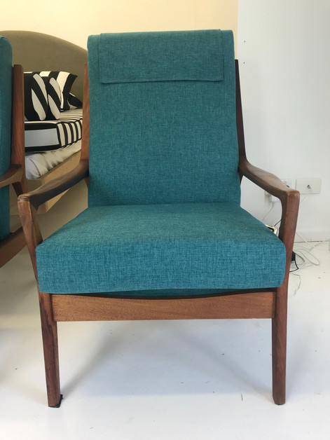 Furniture Upholstery Before and After Couch