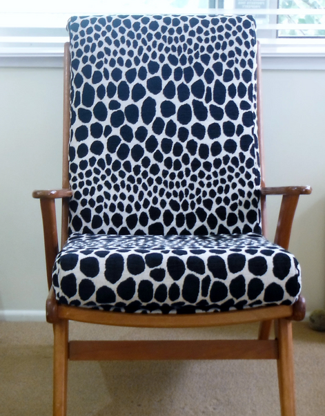 TV Chair Reupholstery and Restoration