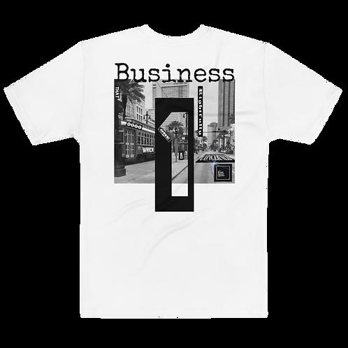 Classic Business Tee - White