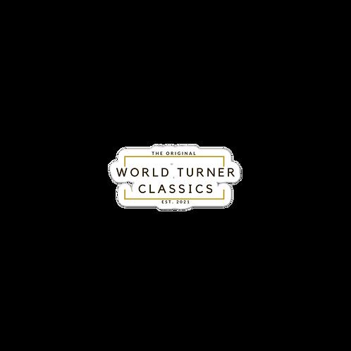 The Original World Turner Classics Est. 2021 (Golden) Bubble-free stickers