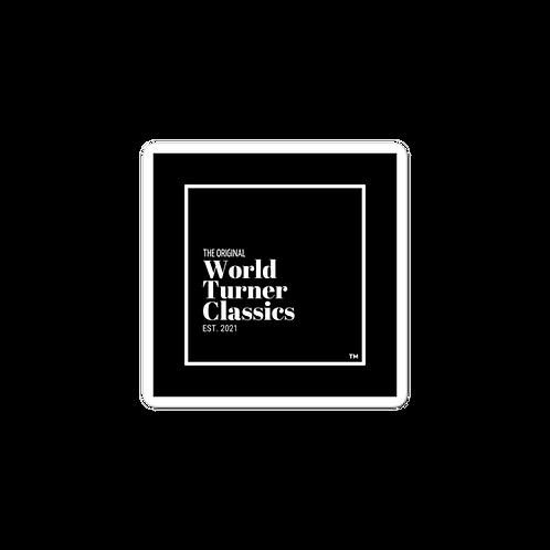 The Original World Turner Classics Est. 2021 Bubble-free stickers