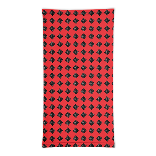 The Original World Turner Classics Est 2o21 Red (Designer) Neck Gaiter