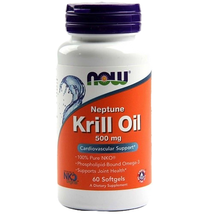 OLEO DE KRILL NOW 500MG