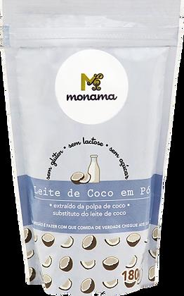 LEITE E COCO EM PÓ MONAMA 180G