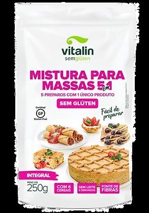 MISTURA PARA MASSAS 5 EM 1 VITALIN 250G