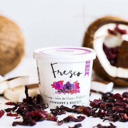 Iogurte de Coco Sabor Morango & Hibisco Eat Fresco