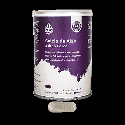 Cálcio de Alga 120 cápsulas (700mg), 84g