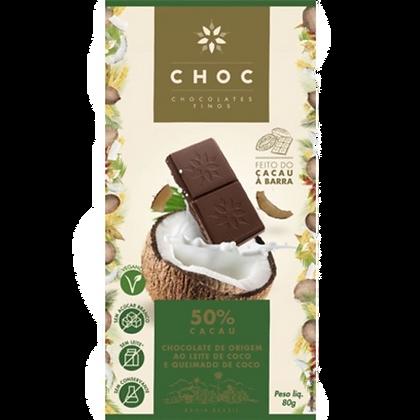 Chocolate Ao Leite de Coco Choc 50%