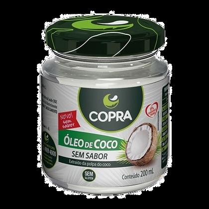 ÓLEO DE COCO COPRA SEM SABOR 200ML