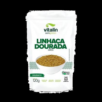 LINHAÇA DOURADA EM GRÃOS VITALIN 120G