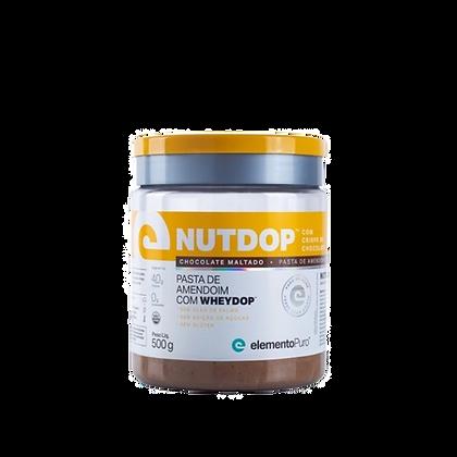NUTDOP 500 G - PASTA DE AMENDOIM COM WHEYDOP™