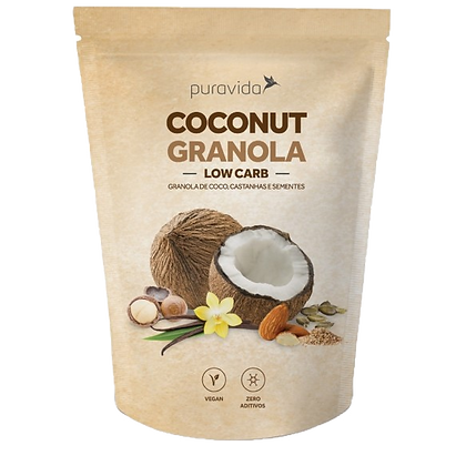 COCONUT GRANOLA LOW CARB
