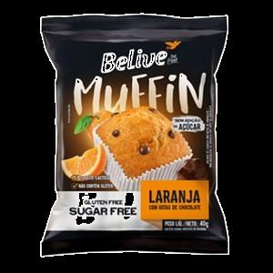 Muffin de Laranja Sem Açúcar Belive