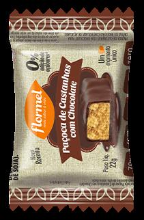 Paçoca com Chocolate Flormel
