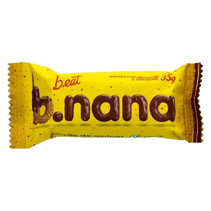 B.Nana Amendoim e Chocolate Preto