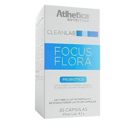 Focus Flora Probióticos Atlhetica
