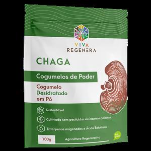 CHAGA COGUMELOS DO PODER VIVA REGENERA 100G