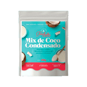 Mix de Coco Condensado Fru-Fruta'