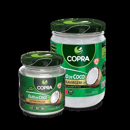 ÓLEO DE COCO EXTRA VIRGEM COPRA – 200ML E 500ML