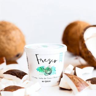 Iogurte de Coco Natural Eat Fresco
