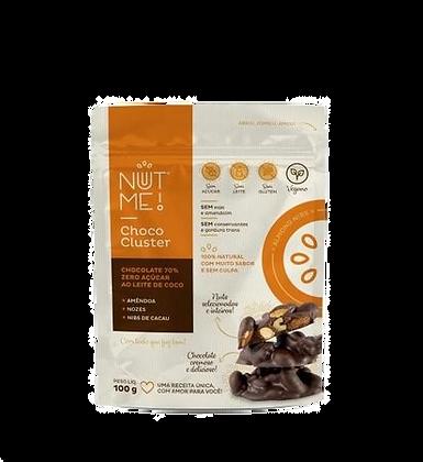 Choco Cluster Nut me ao Leite de Coco