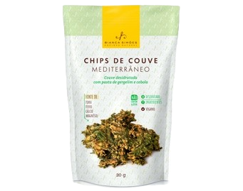 Chips de Couve Bianca Simões