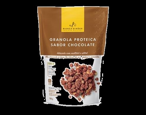 Granola Proteica Bianca Simões