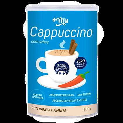Cappuccino com Whey Mais Mu