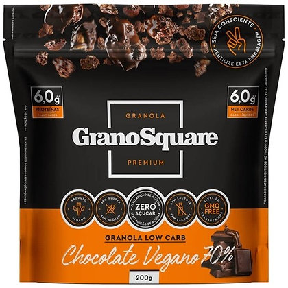 Granola Low Carb Chocolate Vegano GranoSquare