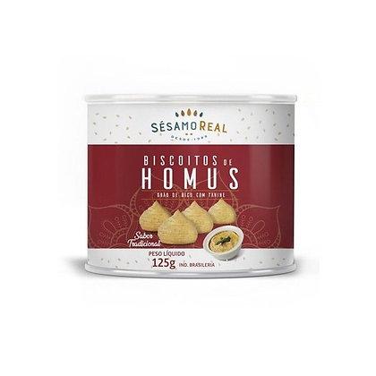 Biscoito de Hommus Sésamo Real