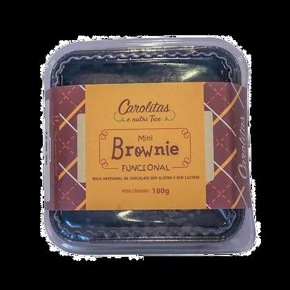 Mini Brownie Funcional Carolitas