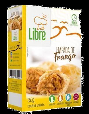 EMPADA DE FRANGO LIBRE