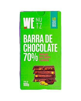 Barra de Chocolate 70% com Tamara WeNutz