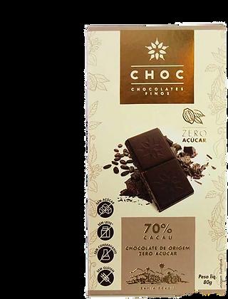 Chocolate Zero Açúcar 70% Choc