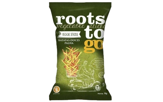 Batata Palha Doce Roots to Go