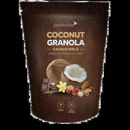COCONUT GRANOLA CACAU E AVELÃ