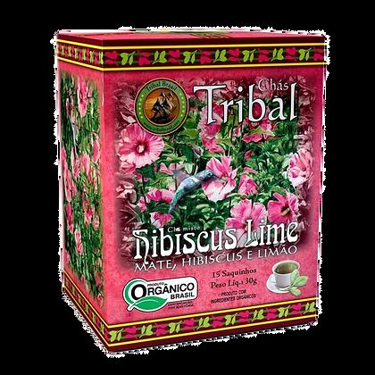 Cha Tribal Erva Mate Hibiscus Lime – sachê
