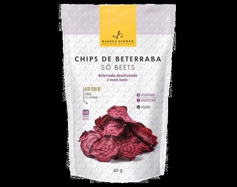 Chips de Beterraba Bianca Simões