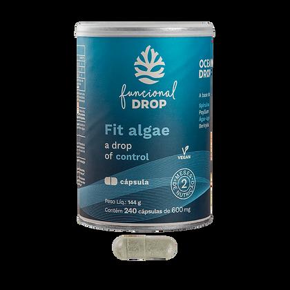 Fit Algae 240 cápsulas (600mg), 144g