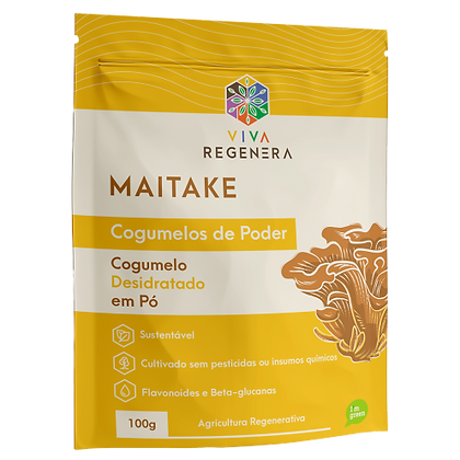 MAITAKE COGUMELOS DO PODER VIVA REGENERA 100G