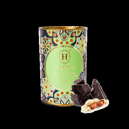Lata Paçoca Com Cobertura de Chocolate Haoma Avelã