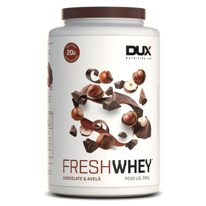 Fresh Whey Dux 900g Chocolate com Avelã