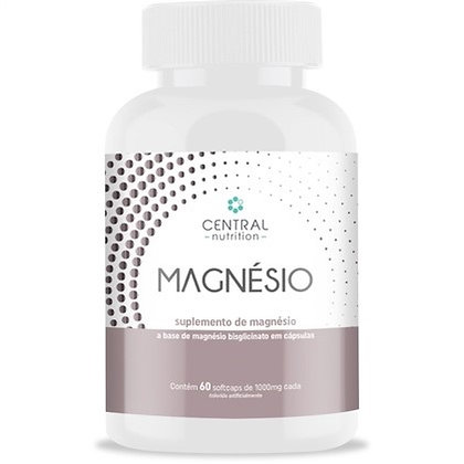 Magnésio Bisglicinato Central Nutrition
