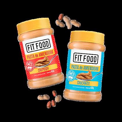 Pasta de Amendoim Fit Food