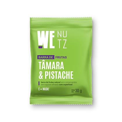 Barra de Frutas Tamara e Pistache WeNutz