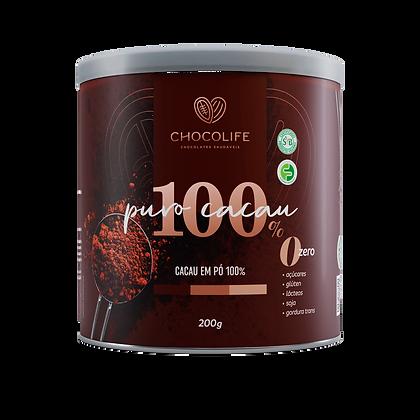 Cacau em Pó 100% Chocolife
